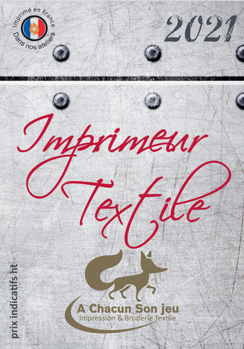 catalogue 2021 textile