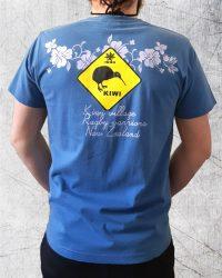 kiwi tee shirt bleu (1)